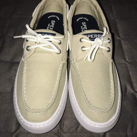 958b43dfa33e6 New Sperry Men's Cutter 2-Eye Ballistic Boat Shoe Boutique